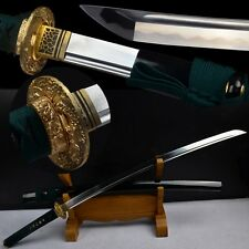 Hand Forge High Carbon Steel Katana Japanese Samurai Sword Sharp Can Cut Tree