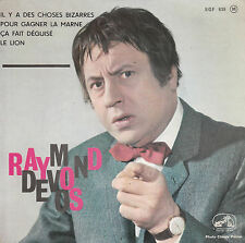 "7"" FRENCH EP 45 TOURS RAYMOND DEVOS ""Il Y A Des Choses Bizarres +3"" 1963"
