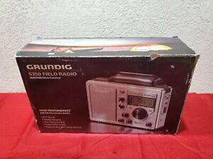 Grundig S350  Field Radio AM-FM-Shortwave High sensitivity world receiver