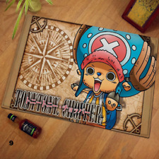 Anime Carpet Flannel One Piece Floor Mat Absorbent Non-Slip Entrance Door#