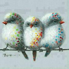 "DIAMOND ART ""SPOTTED BIRDS """