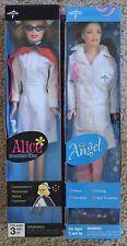 2 NEW Unopened Box 2007 11-12 inch Medline Angel Lab coat Registered Nurse Alice