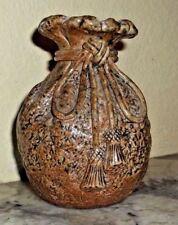 Makuzu Kozan Tea Ceremony Vase Japanese Meiji period c.1868-1912 signed