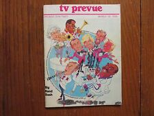 Ma-1978 Chicago Sun-Times TV Prevue Mag(WOODY HERMAN/COUNT BASIE/THE PIED PIPERS