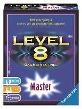 RAVENSBURGER 20767 - LEVEL 8 MASTER, KARTENSPIEL, NEU/OVP