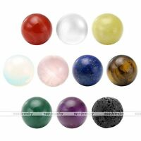 Gemstone Round Beads Reiki Healing Point Chakra For Openable Locket Pendant