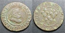 Henri IV, Double tournois 1607 D