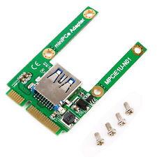 Mini PCI-E Express Card Slot to USB Interface Adapter Riser Card Expansion DEJV