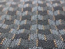 n°e432 tissu etoffe noir gris mercedes w123 0019834982 neuf