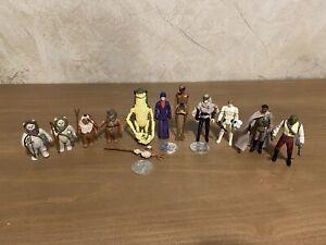 Vintage Star Wars Last 17 Figure Lot!!!!!!