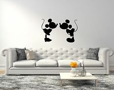 Mickey And Minnie Mouse Disney Wall Decals Vinyl Sticker For Room Home Bedroom