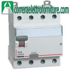 Interruttore differenziale puro AC 4P 40A 500MA BTICINO G745AC40