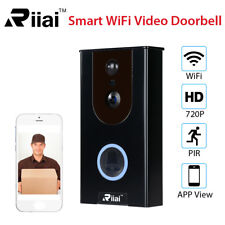 Wireless Smart Doorbell HD Video Ring Camera Remote Intercom Waterproof For IOS