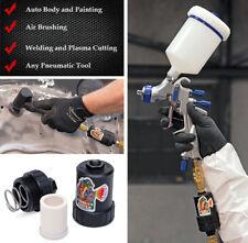 Fisheye Filter Pneumatic Tool Inline Air Oil Water Filter Trap Spray Gun Filter