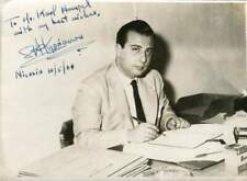 PRESIDENT OF CYPRUS Spyros Kyprianou autograph, signed vintage photo