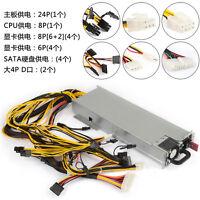 1200W  DPS-1200FB A Power Supply For 8 GPU Eth Rig Ethereum Coin Mining Miner
