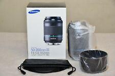 Samsung NX 50-200mm f4-5.6 ED OIS III i-Function Zoom Lens (Black) w/ BOX_ NEW