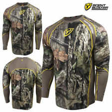 ba39c94ad6222 SCENTBLOCKER 1.5 TRINITY PERFORMANCE BASE LAYER SHIRT MOSSY OAK COUNTRY  SIZE XL
