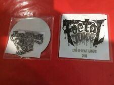 Foetal Juice - 2 X rare demo CDs - death metal gore grind - collectable