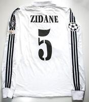 camiseta Zidane Real Madrid 2002 Final Champions League jersey