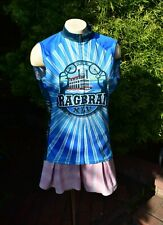 WOMEN'S CYCLING JERSEY FULL ZIP PRIMAL SIZE LARGE RIVERBOAT