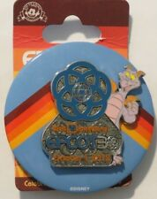 DISNEY WDW EPCOT 30TH ANNIVERSARY FIGMENT OCTOBER 2012 BUTTON & PIN SET