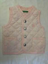 United Colors of Benetton - Gilet - colore rosa chiaro - taglia 3/6 mesi - cm 62