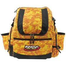 Innova HeroPack Disc Golf Backpack/Bag, 20-30 Disc Storage, Orange Camo, New