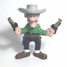 Figurine BD Lucky Luke  Jack Dalton  Schleich 1984   Vintage T2