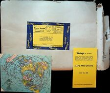 New listing Things of Science Packet Maps & Charts Unit #268 1963 Science Service
