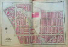 1925 PHILADELPHIA PA ST. STEPHENS R.C. CHURCH WEST KENSINGTON COPY ATLAS MAP