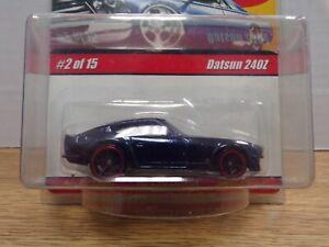 Datsun 240Z Black 1:64 Hot Wheels 40th Modern Classics 2/15 022321DBT