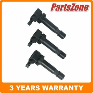 3x Ignition Coils Fit for Daihatsu Sirion Charade Mira Move YRV L251 M100 1.0L