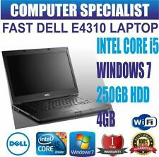 Portátiles y netbooks Windows 7 Dell con 250GB de disco duro