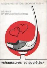 Chaussures et Sociétés : Exposition 1980 Université Bordeaux II CHRISTIAN MERIOT