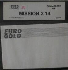 Mission X 14 (Eurogold 1989) Commodore C64  Diskette (Disk) 100% ok