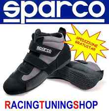 SCARPE KART SPARCO NERE TAGLIA 40 SPARCO KARTING SHOES US SIZE 7,5 SNEAKERS