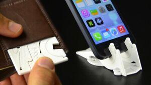 Universal Pocket Phone Holders Mount Foldable Adjust Tripod Car Bracket  Stand