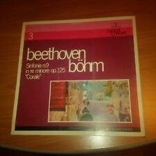 "LP BEETHOVEN BOHM SINFONIA N.9 OP.125 ""CORALE"" GCL 03 EX/M UNPLAYED ITALY PS PV"