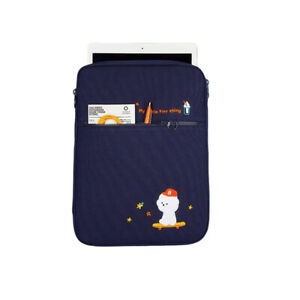11 Inch Canvas Ipad Tablet Case Emboridery Shockproof Laptop Liner Bag Cover-