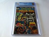 POWER MAN 19 CGC 9.4 1ST APP COTTONMOUTH LUKE CAGE MARVEL COMICS