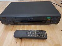 Panasonic NV-HD640 VHS VCR Video recorder player NICAM