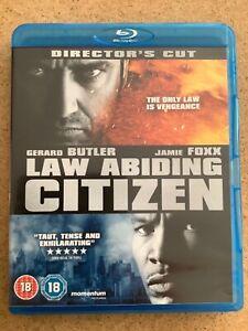 Law abiding ctiizen on Blu ray