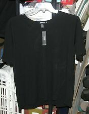 NWT DKNY top/blouse Black Size 2X Retail $128... WOW!!! Brand New!!!