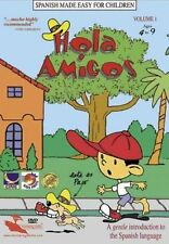 Spanish Made Easy for Children Hola Amigos Vol 1 DVD