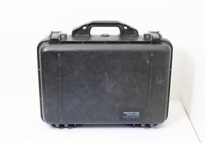 Peli 1500 Protector Case Pelican Waterproof Hard Flight Camera Drone black