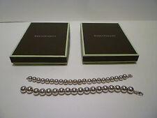 NIB: ROSS SIMONS Set of 2 Sterling Silver 925 Ball Bead Bracelets in 8mm & 10mm