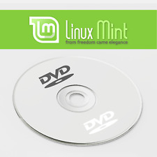 Linux Mint Cinnamon 64 Bit Version 19.3 Live DVD Bootable Install