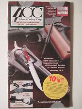 Atlanta Cutlery Corp. Catalog #141. (antique weapons bowie & combat knives)