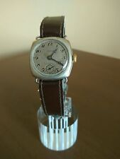 VINTAGE SILVER TRENCH WATCH- ALPINA- CAL.751